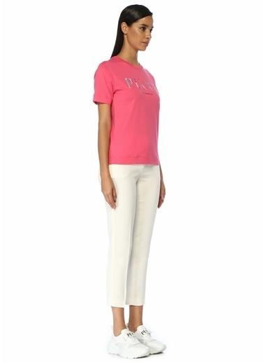 Emilio Pucci Emilio Pucci  Normal Bel Dar Paça Pantolon 101480850 Beyaz